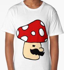 Mario Mushroom Long T-Shirt