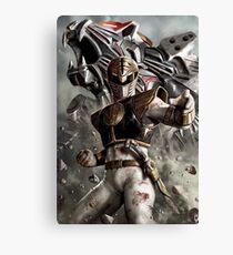 White Ranger - Power Rangers Canvas Print