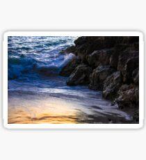Waves & Rocks Sticker