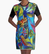 Bright garden. Graphic T-Shirt Dress