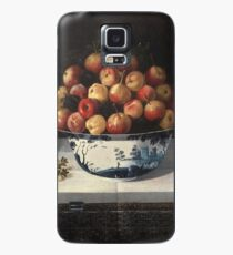 Hiepes, Tomas - Delft Fruit Bowl And Two Vases Of Flowers Case/Skin for Samsung Galaxy