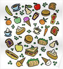 Essen leckeres Essen! Poster