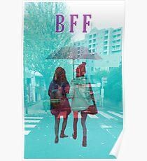 BFF under umbrella  Poster