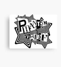 Phantom Thief - Persona 5 inspired.  Canvas Print