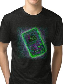 neon punk gameboy Tri-blend T-Shirt
