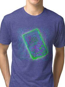 neon punk gameboy Tri-blend T-Shirt