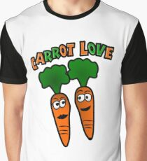 Carrot Love With Carrot  Graphic T-Shirt