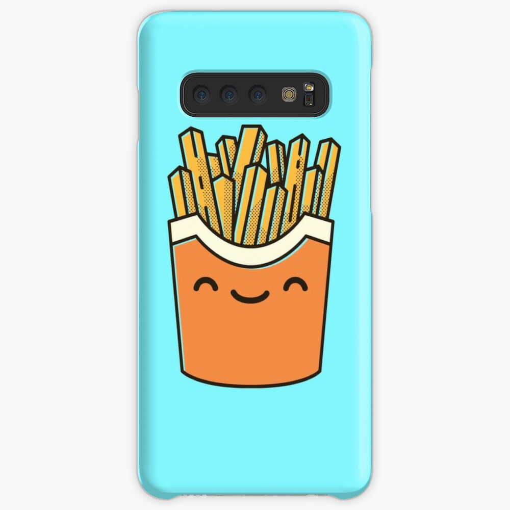 Smiley French Fries Case & Skin for Samsung Galaxy