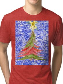 Oh Christmas Tree Tri-blend T-Shirt