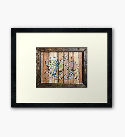 Octobeer Framed Print