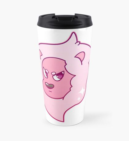 Pink Lion Travel Mug