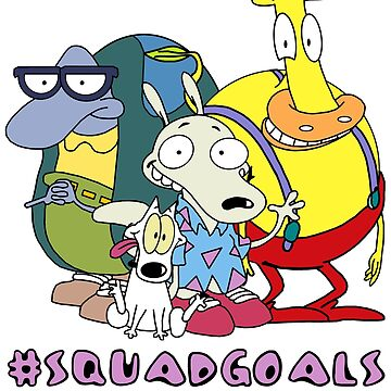 Rocko's Modern Life - #SQUADGOALS by BrandonEstes