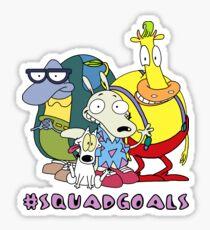 Rocko's Modern Life - #SQUADGOALS Sticker