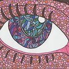 Paisley eye by Lynn Excell