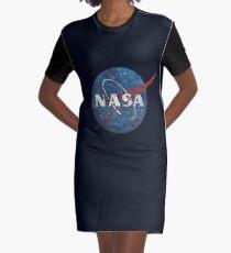 NASA Vintage Emblem Graphic T-Shirt Dress