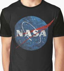 NASA Vintage Emblem Graphic T-Shirt