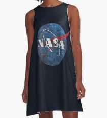Emblème Vintage de la NASA Robe trapèze
