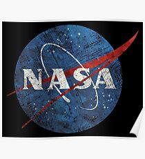 NASA Vintage Emblem Poster