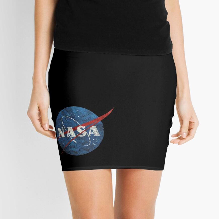NASA Vintage Emblem Minirock Vorne