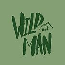 Wild Man x Green by Leah Flores