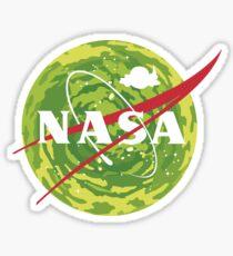 NASA - Rick and Morty Sticker