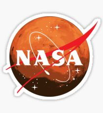 NASA Journey to Mars Sticker