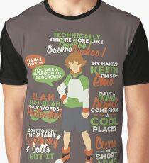 Pidge Quotes Graphic T-Shirt
