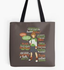 Pidge Quotes Tote Bag