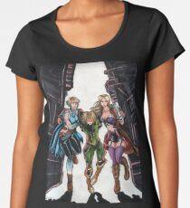 Cityscape Escape  Women's Premium T-Shirt