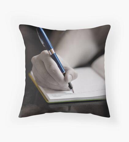 The Diary Throw Pillow