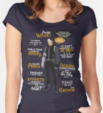 Shiro Quotes Women's Fitted Scoop T-Shirt