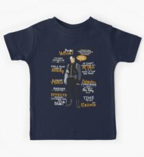 Shiro Quotes Kids Tee