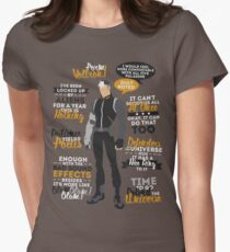 Shiro Quotes Womens Fitted T-Shirt