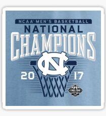 UNC Basketball Sticker