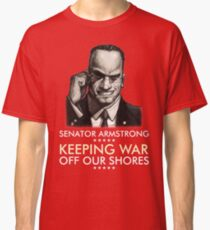 Senator Armstrong Presidential Campaign - Metal Gear Rising: Revengeance Classic T-Shirt