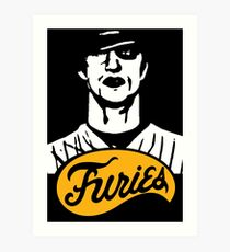 The Warriors Baseball Furies Art Print