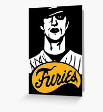 The Warriors Baseball Furies Greeting Card