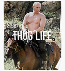 Póster Retroceso - Vladimir Putin
