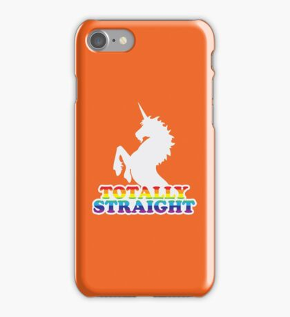 Totally Straight iPhone Case/Skin