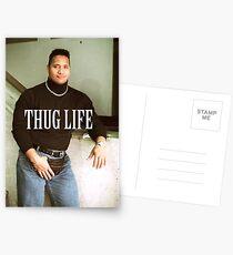 Throwback - Dwayne Johnson Postcards