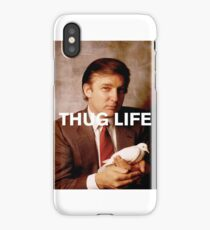 Throwback - Donald Trump iPhone Case/Skin