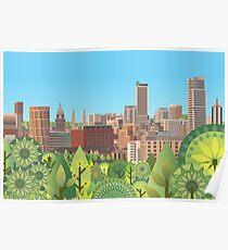 Urban Summer Poster