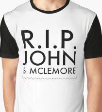 RIP John B Mclemore Graphic T-Shirt