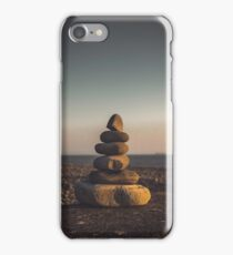 A small pebble stack iPhone Case/Skin