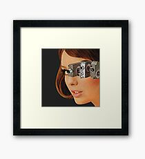 I'm Watching You! Framed Print
