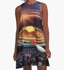 Breakfast A-Line Dress