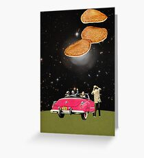 Unidentified flying object Greeting Card