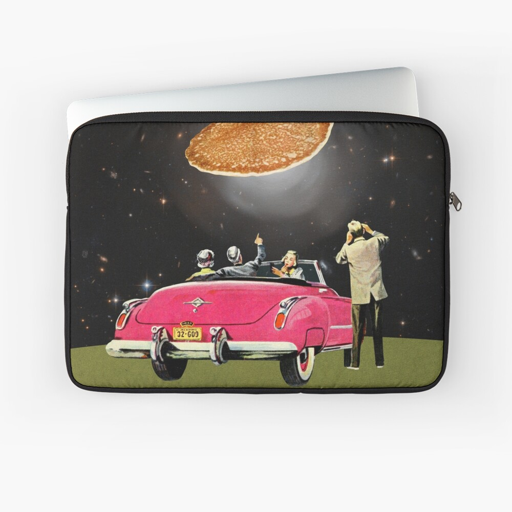 Unidentified flying object Laptop Sleeve Front