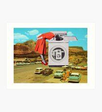 Watching machine Art Print