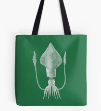 Squid (Green) Tote Bag